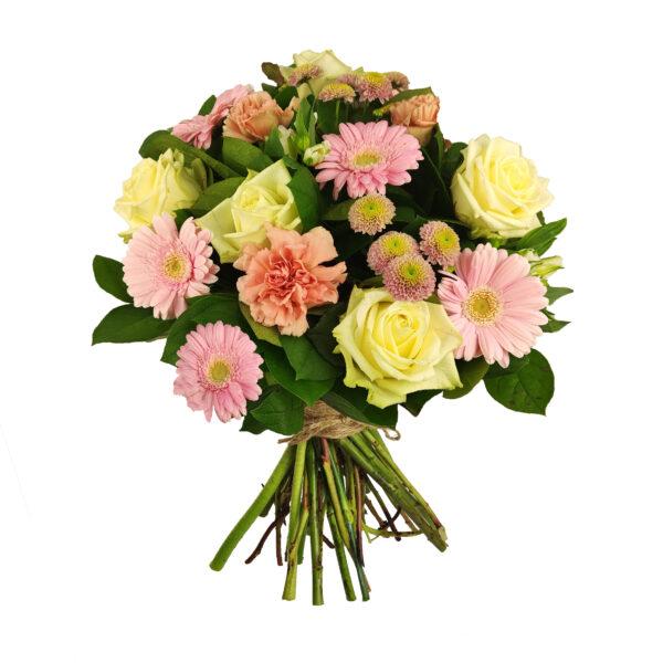 Boeket in roze en wit