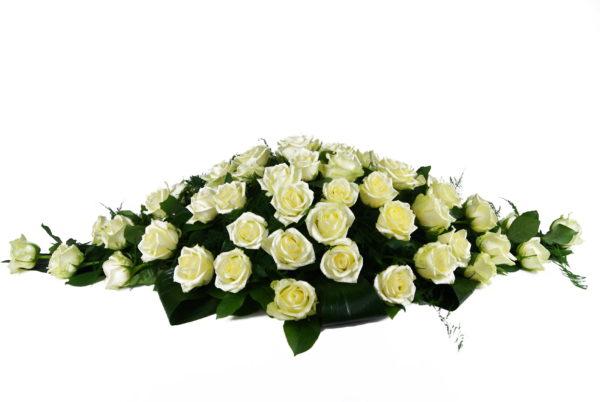 Bloemstuk overlijden afscheidsbloemen Crea-fleur
