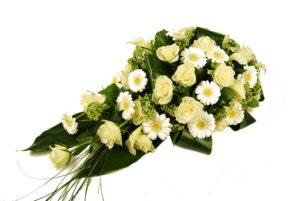 Druppel bloemstuk overlijden Crea-fleur