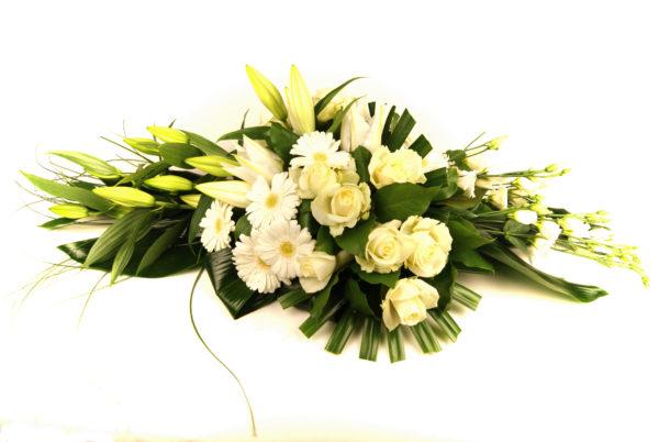 Bloemen voor overlijden, begrafenis