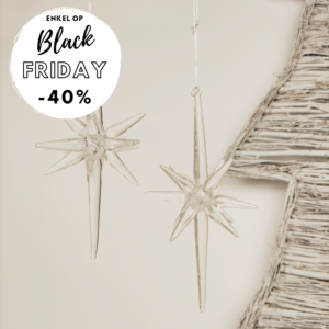 Kerstdecoratie ster Black friday