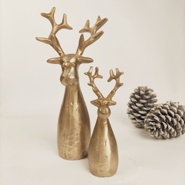 Kerstdecoratie rendieren hoofd