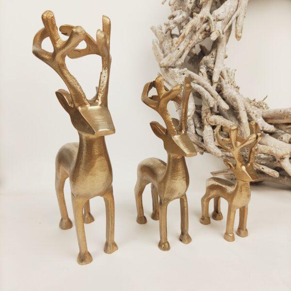 Kerstdecoratie kerstherten staand