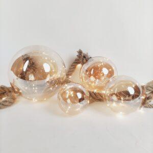 Kerstballen met ledlicht