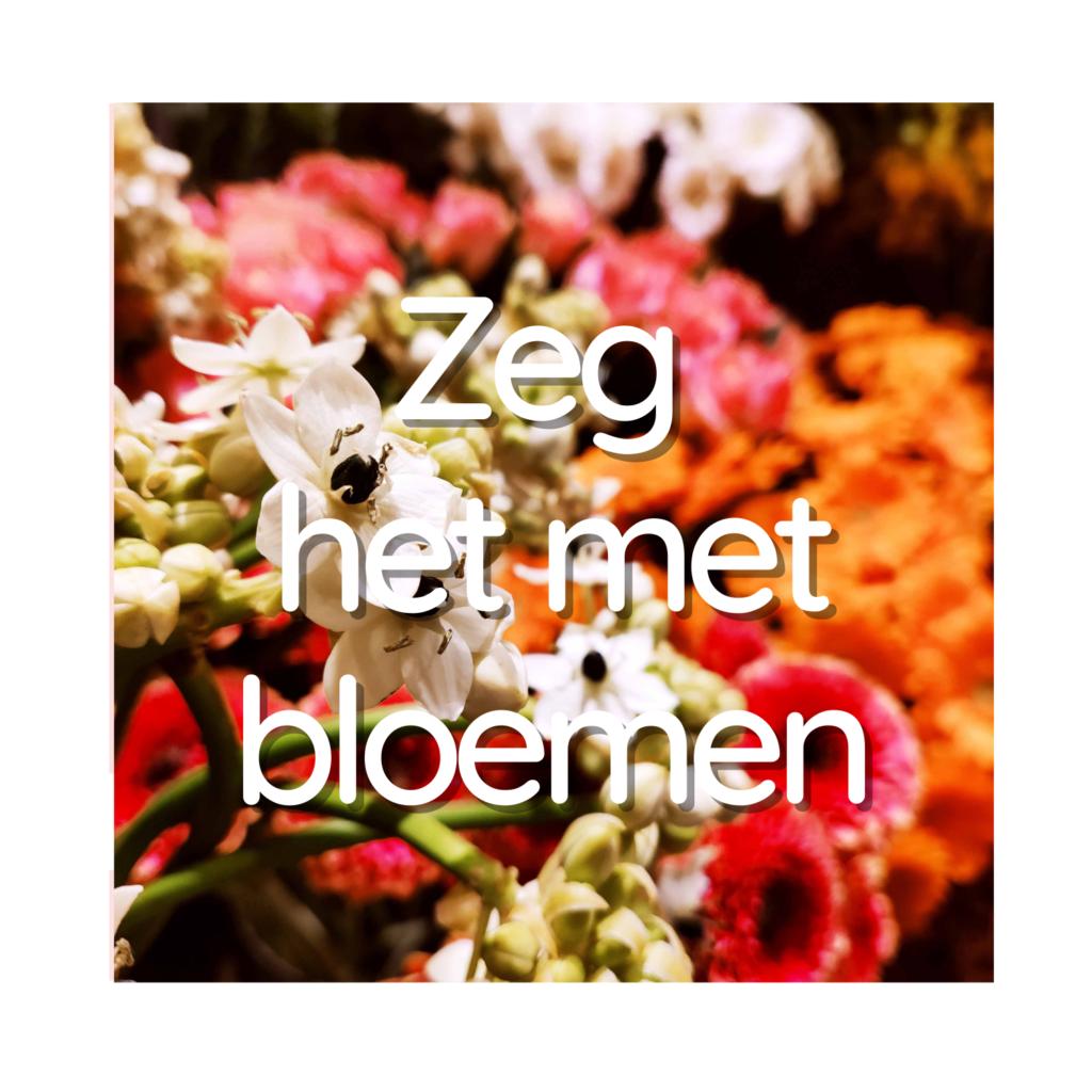 Zeg het met bloemen