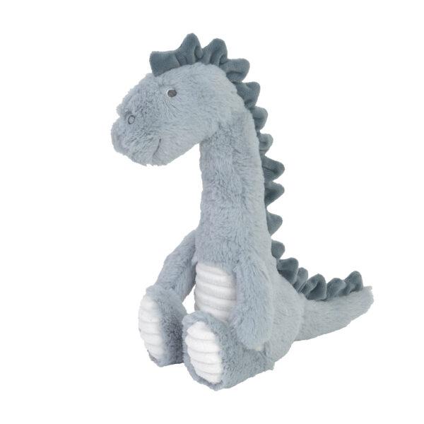Knuffel dinosaurus blauw