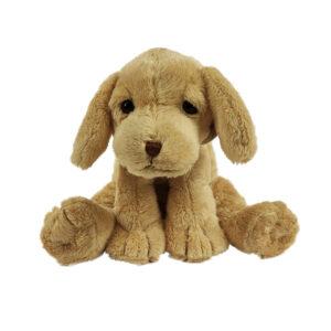 Knuffel hond beige