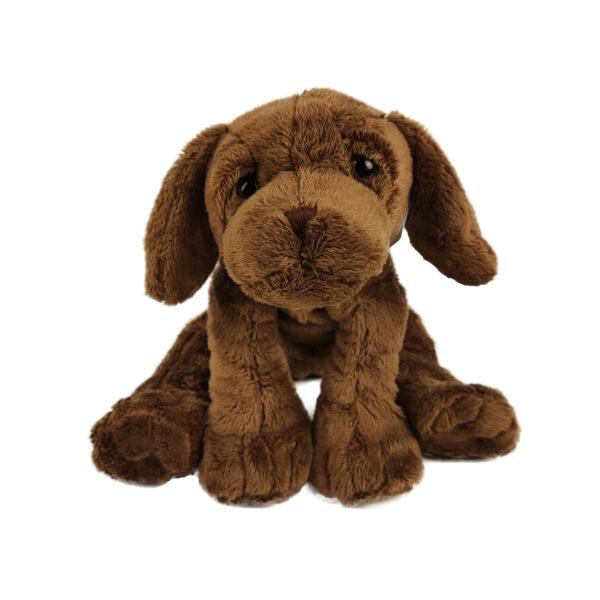 Knuffel hond bruin