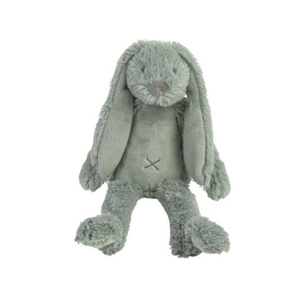Knuffel konijn blauw klein