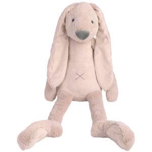 Knuffel konijn roze groot