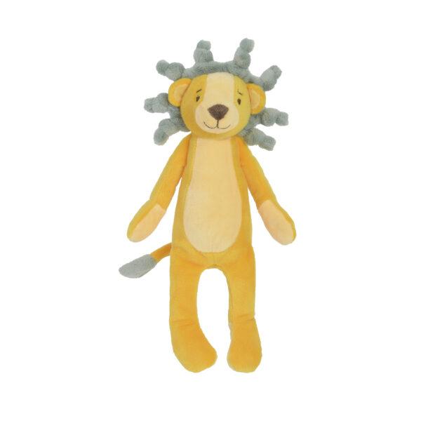 Knuffel leeuw geel
