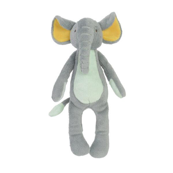 Knuffel olifant grijs