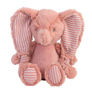 Knuffel olifant roze