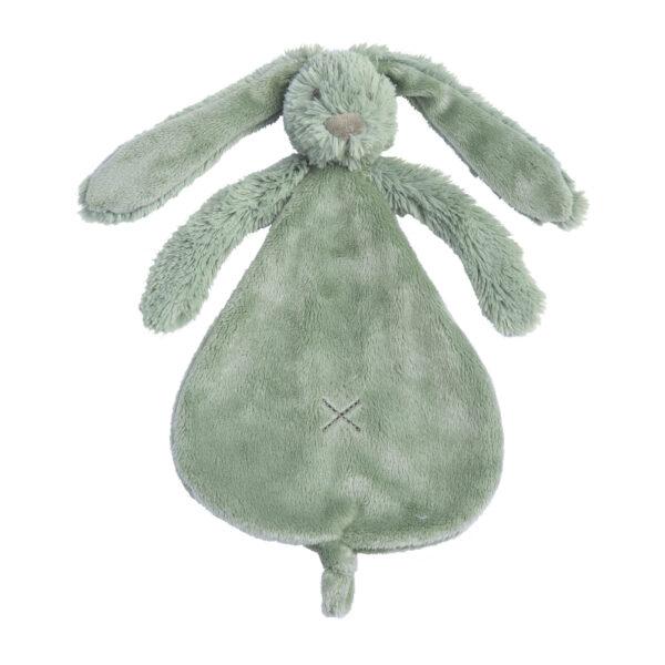 Knuffeldoek konijn blauw