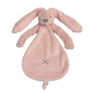 Knuffeldoek konijn roze