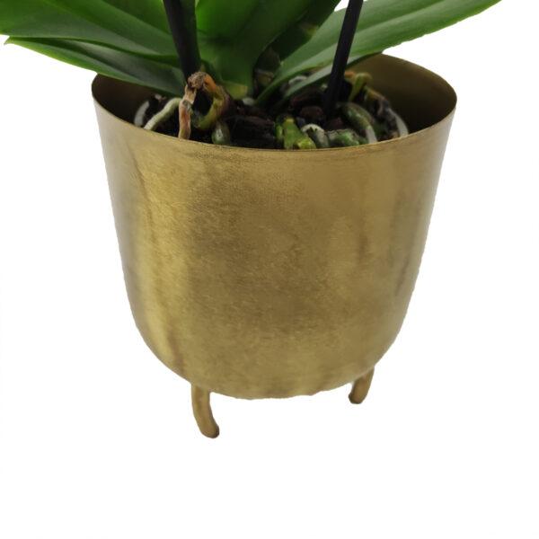 Orchidee Wit TablO 2 takken met bloempot_bloempot